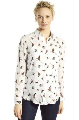 Dubarry Womens Briarrose Country Shirt Cream Multi
