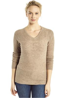 Dubarry Womens Slievebloom Fleece Top Stone