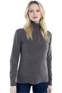 Dubarry Womens Coleraine Half Zip Sweater Elk