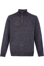 Dubarry Mens Mallon Half Zip Sweater Graphite