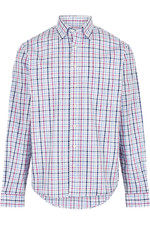 Dubarry Mens Rathdrum Check Shirt - Orchid