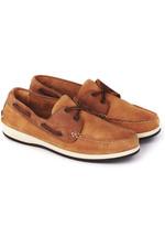 Dubarry Mens Pacific X LT Deck Shoe Donkey Brown