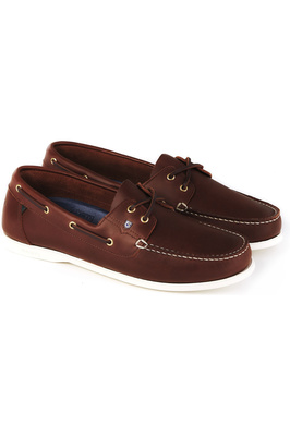 Dubarry Mens Port Deck Shoes Brown