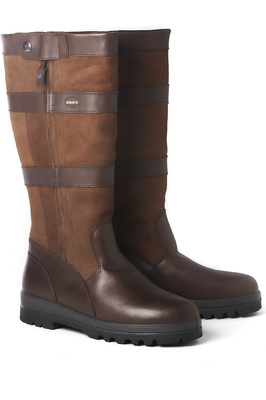 Dubarry Wexford Leather Boots Walnut