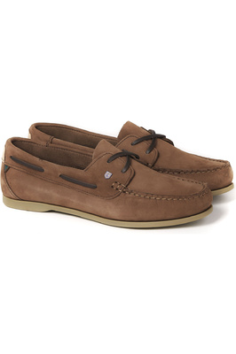 Dubarry Womens Aruba Deck Shoes Cafe