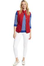 Dubarry Womens Bayview Primaloft Gilet Poppy