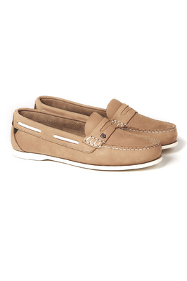 Dubarry Womens Belize Deck Shoe Beige