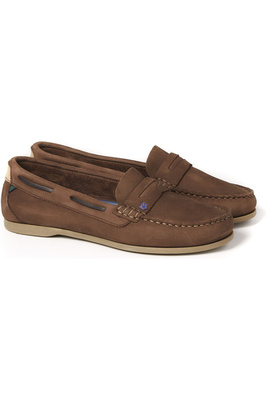 Dubarry Womens Belize Deck Shoe Cafe