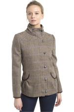 Dubarry Womens Bracken Tweed Sports Jacket Woodrose