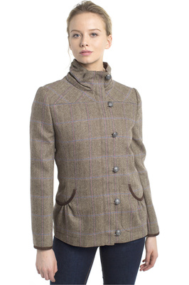 Dubarry Womens Bracken Tweed Sports Jacket Woodrose