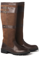 Dubarry Womens Longford Leather Boot Walnut