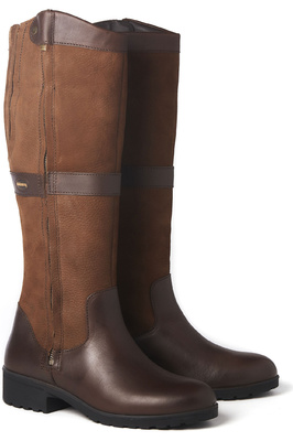 Dubarry Womens Sligo Country Boots Walnut