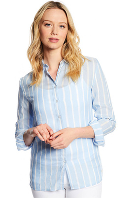 Dubarry Womens Violet Shirt Pale Blue