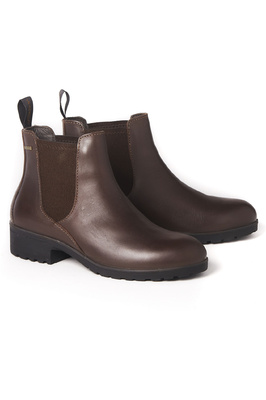 Dubarry Womens Waterford Chelsea Boots Mahogany