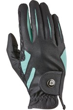 Dublin Cool-It Gel Riding Goves - Black / Teal