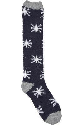 Dublin Cosy Socks Grey/Navy / White