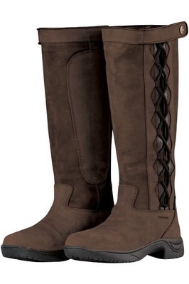 Dublin Womens Pinnacle II Country Boots Chocolate