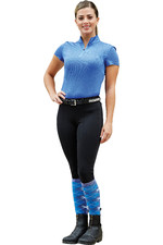 Dublin Womens Performance Flex Knee Patch Riding Tights 5927 - Black