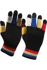 2020 Dublin Childrens Pimple Grip Riding Gloves - Black Multi