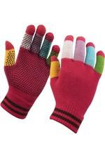 2020 Dublin Childrens Pimple Grip Riding Gloves - Pink Multi