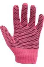 2020 Dublin Childrens Pimple Grip Riding Gloves - Pink