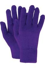 2020 Dublin Childrens Pimple Grip Riding Gloves - Dark Purple