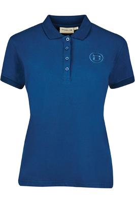 Dublin Womens Ara Short Sleeve Polo T-Shirt Navy