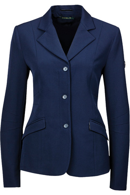 Dublin Womens Casey Tailored Riding Jacket - Navy