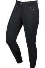 Dublin Womens Corvus Gel Full Seat Breeches Black