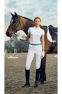 Dublin Womens Fuller Short Sleeve Performance Top White