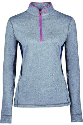 Dublin Womens Kylee Long Sleeve Shirt Navy