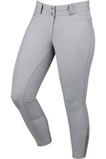 Dublin Womens Lunar Gel Full Seat Breeches Grey