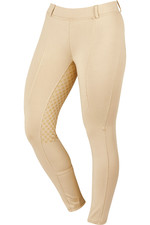 Dublin Womens Performance Cool-It Gel Riding Tights - Beige
