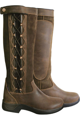 Dublin Womens Pinnacle Boots Chocolate Brown