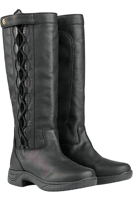 Dublin Womens Pinnacle Grain Boots Black