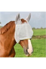 Equilibrium Field Relief Midi Fly Mask With Ears Grey / Yellow