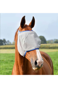 Equilibrium Field Relief Midi Fly Mask Without Ears Grey / Blue