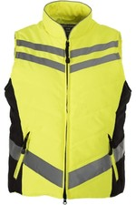 Equisafety Quilted Gilet - Yellow GILY
