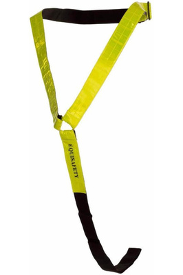Equisafety Relective Neckband Yellow