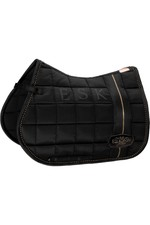 Eskadron Big Square Glossy Saddle Pad - Black