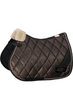 Eskadron Glitter-Mesh Saddle Pad - Black