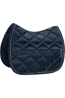 Eskadron Satin Diagonal Saddle Pad - Navy