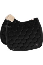 Eskadron Velvet Saddle Pad - Black