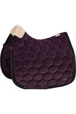 Eskadron Velvet Saddle Pad - DeepBerry