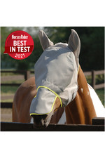 Equilibrium Field Relief Max Fly Mask Grey / Yellow