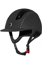 Gatehouse Chelsea Air Flow Pro Suedette Crystal Riding Hat Black