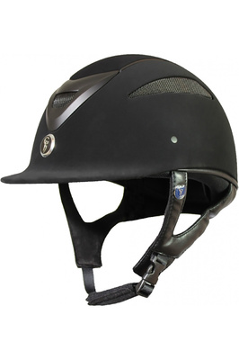 Gatehouse Conquest MK2 Riding Hat Suedette Black