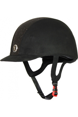 Gatehouse Childrens Jeunesse Glitter Riding Hat Black