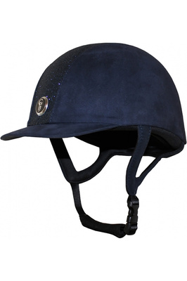 Gatehouse Childrens Jeunesse Glitter Riding Hat Navy
