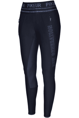 Pikeur Womens Glenn Athleisure Grip Breeches Leggings Nightblue